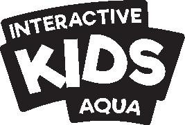 logo Kidswall aqua mono