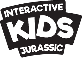 logo Kidswall jurassic mono